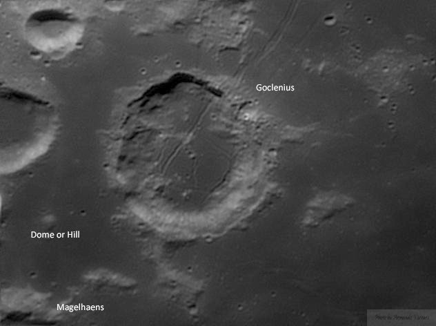 Domi lunari - I vulcani della Luna