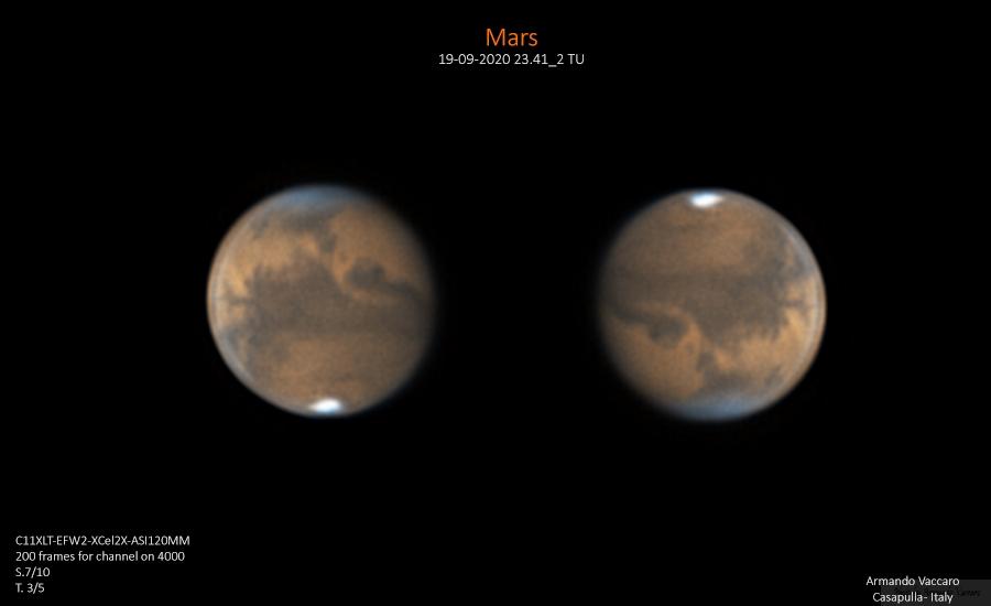 Marte Protagonista della stagione pianeti 2020